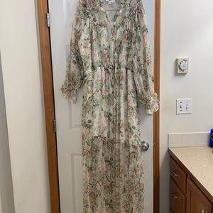 Forever Unique plus size rose dress, US size 18